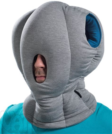 Ostich Pillow by The Ostrich Pillow Nap Anywhere Anytime