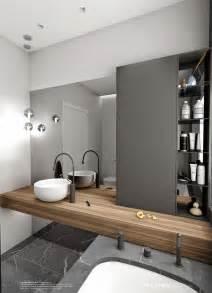 bathroom rustic double sink vanities white floor tile