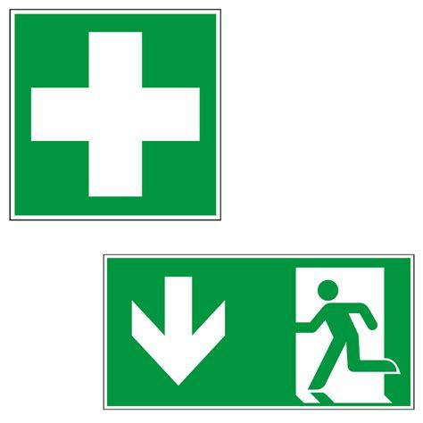 Kennzeichen Aufkleber Bedeutung by Rettungszeichen Fluchtwege Kennzeichnen Kroschke