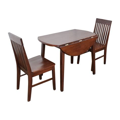 retractable dining table 60 off round dining table with folding sides and chairs