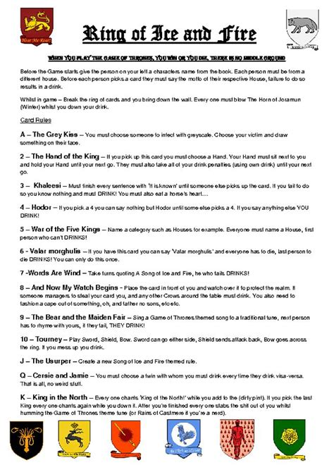 house of cards drinking game 1000 images about winter is coming on pinterest game