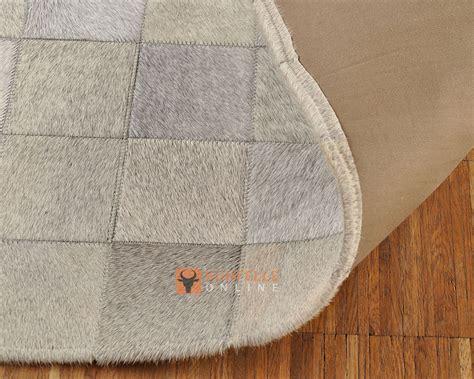 kuhfell teppich patchwork kuhfellteppich patchwork grau 180 x 120 cm