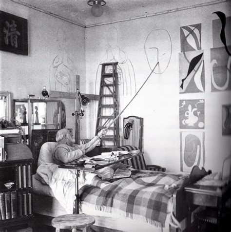 matisse in the studio left bank art blog matisse s cut outs as environments