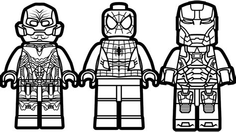 lego spiderman vs lego iron man patriot vs lego ultron