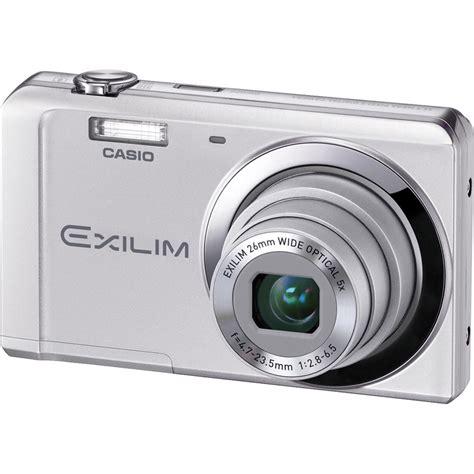 Charger Casio Exilim casio exilim ex zs5 digital silver ex zs5s b h photo
