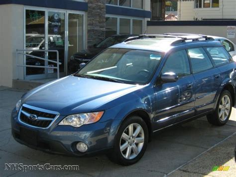2008 subaru outback wagon 2008 subaru outback 2 5i limited wagon in newport blue