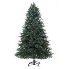 noma pre lit colour changing pine christmas tree 7 ft