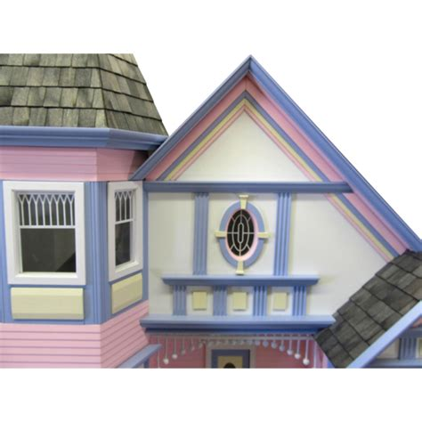 The Painted Lady Dollhouse Kit ? Real Good Toys