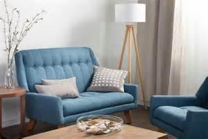 kleines 2er sofa design bettsofa 2er mit blau farbe aus polsterm 246 bel ideen