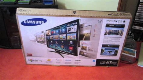 Unboxed Tv And Direct To Your Screen by Samsung 40 Led 1080p Smart Tv Unboxing Review