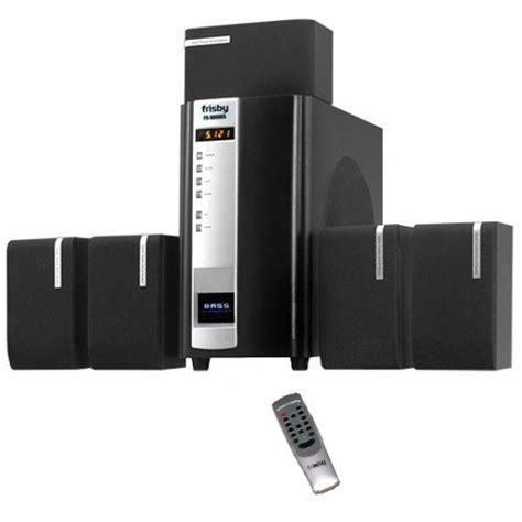frisby home theater 5 1 surround sound speakers system