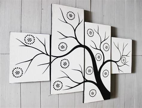 terkeren  lukisan dinding pohon hitam putih rudi gambar