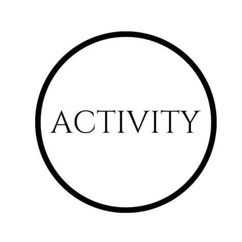 activity for activity activityconf
