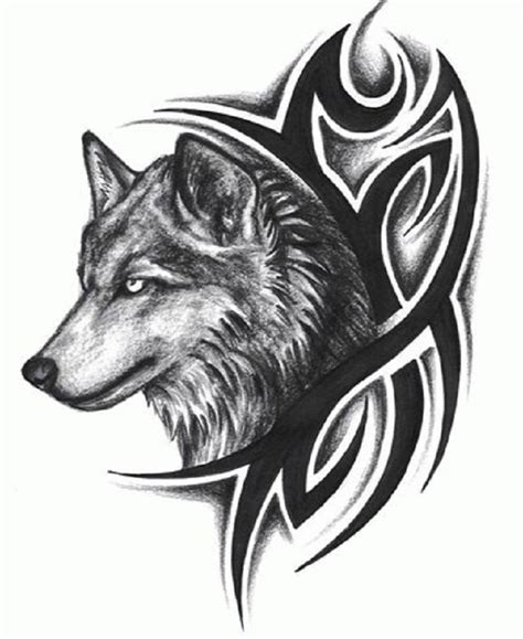tribal wolf tattoo designs wolf tattoos designs ideas and meaning tattoos for you