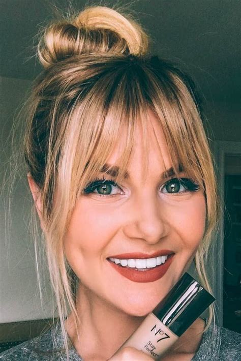 21 nice and flattering hairstyles with bangs hair type 21 nice and flattering hairstyles with bangs hair type