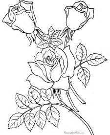 coloring pages for free coloring pages of roses coloring home