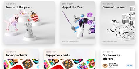 2017 best picture apple announces app of the year game of the year and