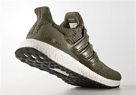Adidas Ultra Boost 2 0 Green Olive adidas ultra boost 3 0 trace olive s82018 sneakernews