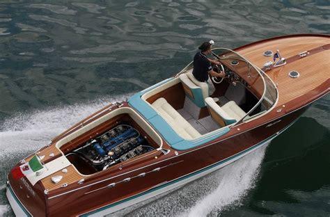 lamborghini speed boat top speed ferruccio lamborghini s twin v12 riva speedboat restored