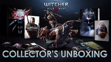 Kaset Ps4 The Witcher 3 Hunt Complete Edition the witcher 3 the hunt ps4 xbox one pc collector s edition unboxing official trailer