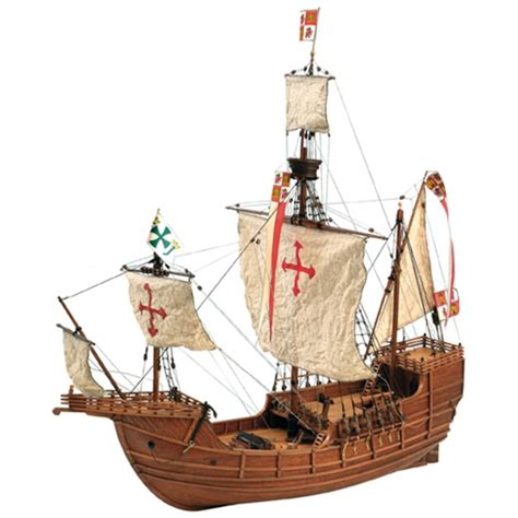 santa maria boat santa maria caravel wooden model the new world is on your
