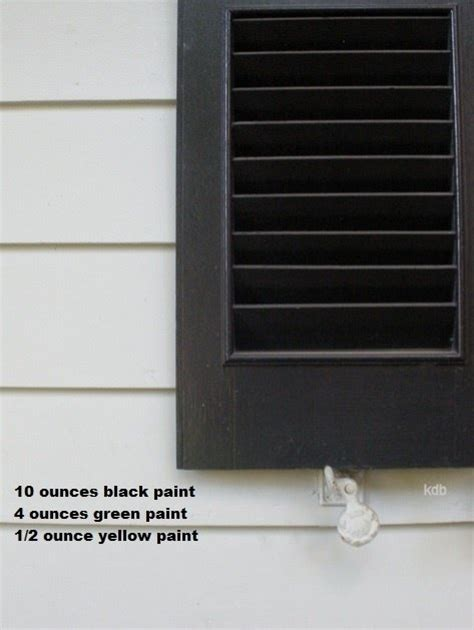charleston green paint which is on our home began with history that says union troops sent