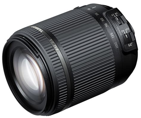 Tamron 18 200mm F35 63 Di Ii Vc Canon Nikon tamron kondigt nieuwe 18 200mm aan photofacts