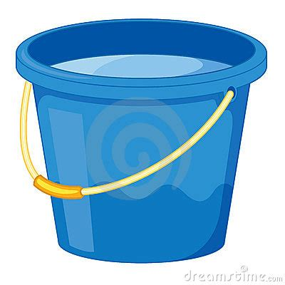 bucket of water clipart clipartxtras