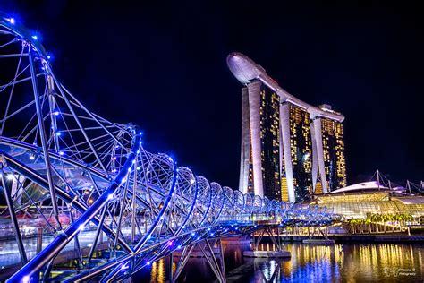 helix bridge helix bridge marina bay sands singapore singapore