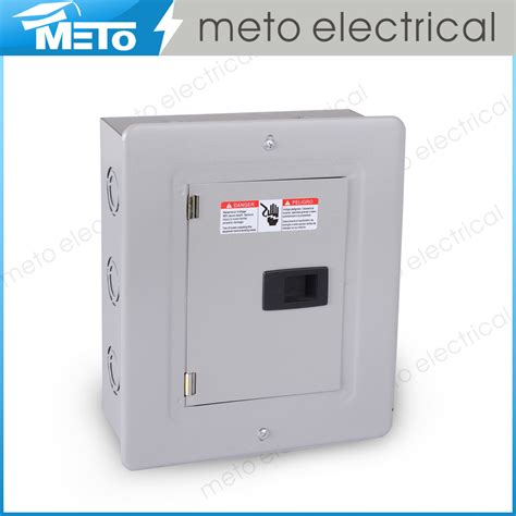 outdoor electrical panel meto 100 6 way outdoor residential electrical panel