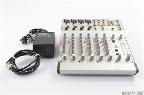 Power Supply Mixer Behringer behringer mx802a eurorack 8 channel compact mixer w power
