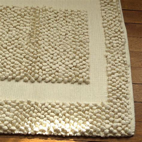 tapis massant tapis bain beige 233 pais tissage artisanal effet massant