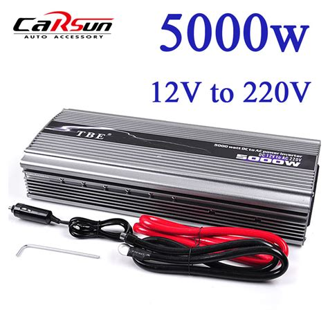 Promo Inverter 5000w Dc 24v Ac 220v Sine Wave 5000 Watt Peak popular power inverter refrigerator buy cheap power