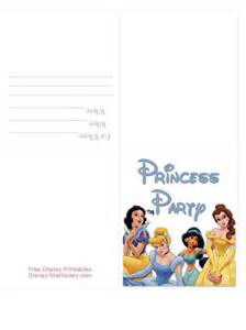 9 best images of free printable princess invitation cards free printable princess birthday