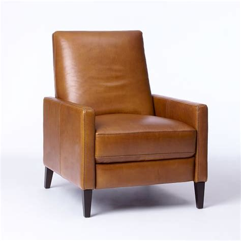 sedgwick recliner review sedgwick leather recliner west elm