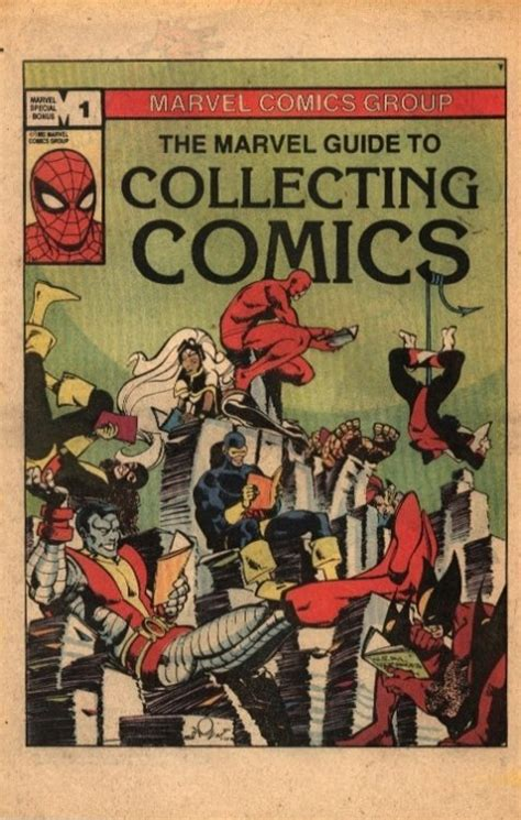 complete guide to sts collecting books marvel guide to collecting comics 1 marvel