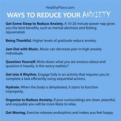 reduce anxiety 10 tips to reduce your anxiety in 10 minutes or less