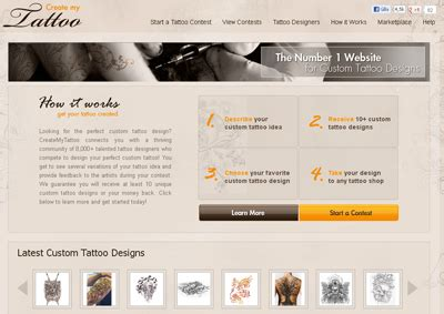 online tattoo designer software 5 free and paid online tattoo designer tools design make