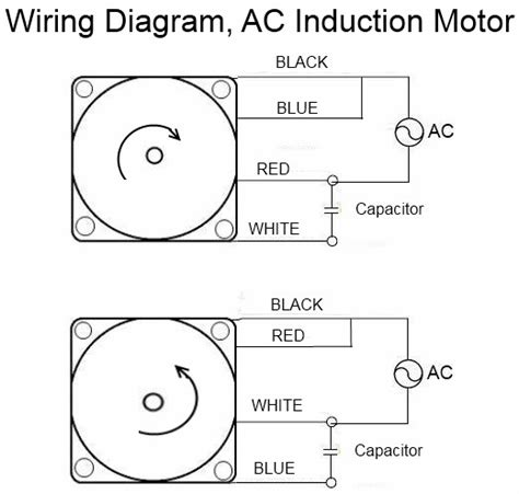 electric motor wiring diagrams with capacitor centrifugal