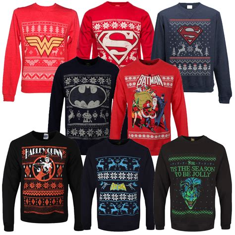Dc Read It Cew Sweater adults dc comics theme jumpers new