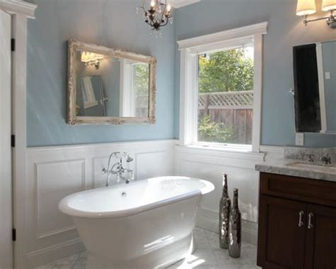 bathroom wainscoting ideas wainscot in bathroom houzz
