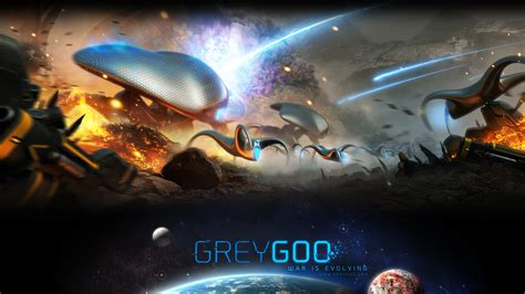 grey goo wallpaper first grey goo wallpaper released check out the goo