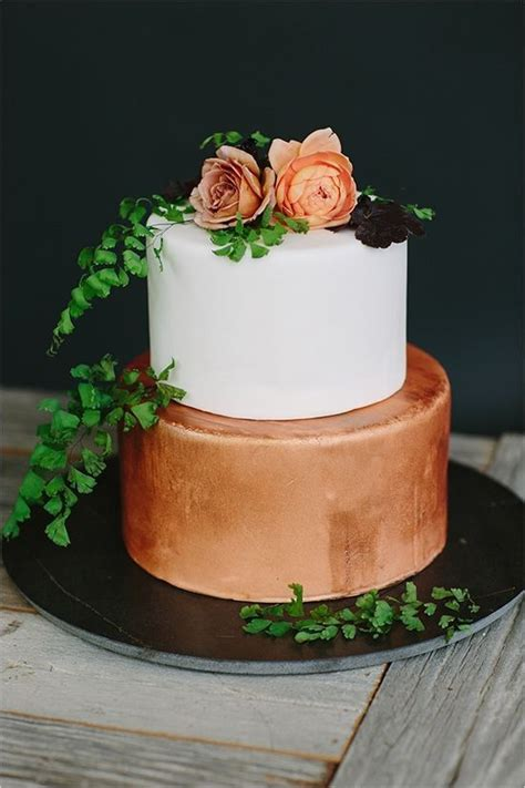amazing vintage bronze copper wedding color ideas