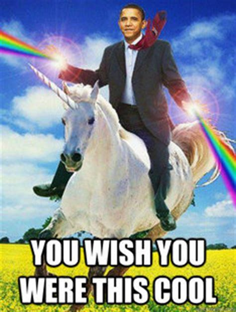 Unicorn Meme Generator - obama rainbow unicorn memes quickmeme