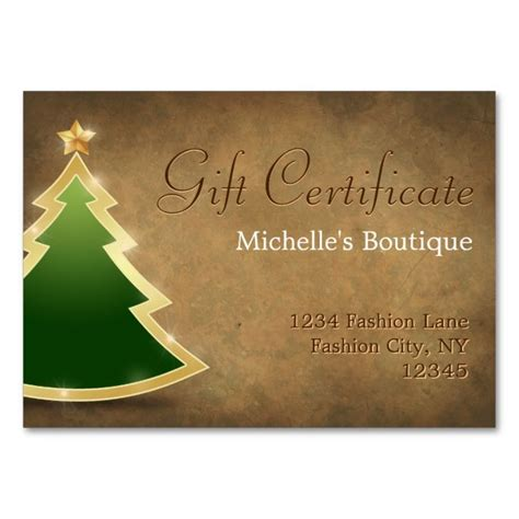 Rustic Style Business Cards