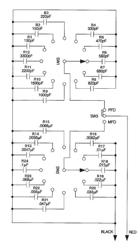 resistor decade box schematic resistor decade box schematic 28 images heathkit euw 27 science series sine square wave