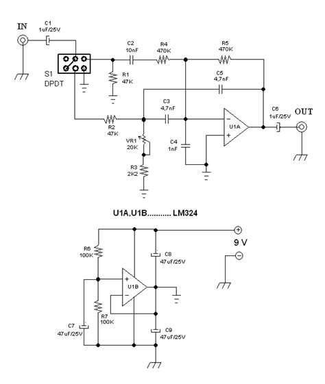 inductor in an lifier circuit inductor less wah baby quack effect using operational lifier deeptronic