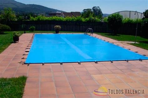 toldo piscina lona cubre piscina toldos valencia