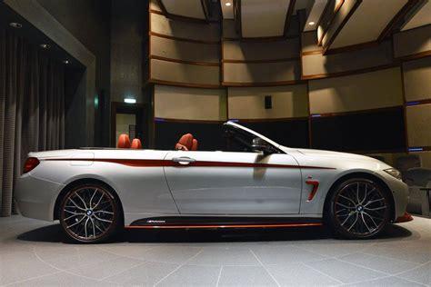 bmw  convertible  orange  performance kit