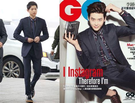 Kaos Song Jong Ki pakai jas kembar song joong ki vs jong suk keren